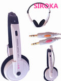 High Quality New White Headset Headphones with Mic Supplier