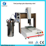 Space Saving Desktop Automatic Liquid Gluing Machine with Tank