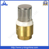 Brass Spring Check Valve for Water Pump (YD-3003)