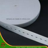 Elastic Tape with Button Hole for Garment