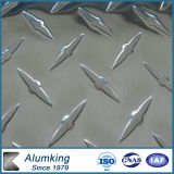 Aluminum Checkered Plate with Compass Pattern