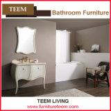 White Ash Wood Bathroom Cabinet