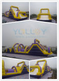 Inflatable Obstacle Course for Playground Games