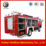 Low Price Dongfeng Red 145 Chassis 4*2 Fire Truck