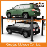 2 Automobile Car Vehicle Hydraulic Motor Four Post Car Parking System in USA
