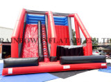 New Design Inflatable Climbing Wall and Jumping Freefall for Sport