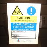 3m Reflective Aluminium Warning Sign Board