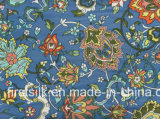 Printed Silk Single Jersey Silk Fabric