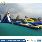 Outdoor Commercial Giant Inflatable Water Slide for Adult with Pool