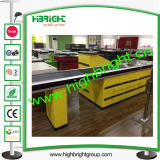 Supermarket Checkout Stand with Conveyor Belt