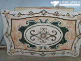 Natural Marble Stone Waterjet Medallion for Hotel Hall (MML009)