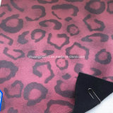 Syc806-1041 Hot Leopard Microfiber Leather for Shoes