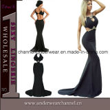 Top Sexy Black Stylish Evening Party Prom Dress (61052)
