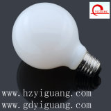 Milky White Frosted LED Filament Light G80