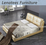 S248 Fashionable Bedroom Design Leather Furniture