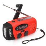 Noaa Weather Radio Emergency Solar Hand Crank 3-in-1 Radio Wb/Am/FM Multifunction Power Bank LED Camping Flashlight