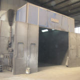 Sand Blasting for Rust Cleaning and Prepare for Plating