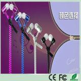 10% off Metal Stereo Zipper Earphone for iPhone Mobile Phone (K-916)