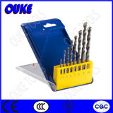 8PC 40cr Steel Carbide Tipped Concrete Drill Bits Set