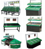 High Quality Supermarket Vegetable Display Rack