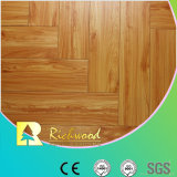 Household 12.3mm Embossed Hickory Waxed Edged Lamiante Floor