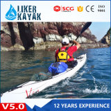 V5.0 White Plastic Sea Kayak