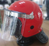 Red Anti Riot Helmet