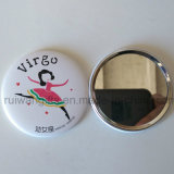 Logo Personalized Mini Pocket Mirror, Cheap Prmotional Gifts