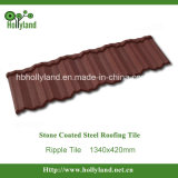 Corrugated Steel Roofing Tile with Stone Coated (Ripple type)