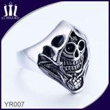 Yr007 Skeleton Head Ring