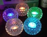 New Design Colorful Crystal Candleholder Wedding Decoration