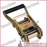 "2""- 50mm Medium Wide Handle Ratchet Buckle with Safe Lock"