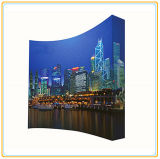 Trade Show Tension Fabric Curved Pop up Stand (8ft Curved)