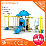 Gym Outdoor Playground Slide Swing Set for Kids