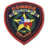 Customized Woven Embroidery Police Patch for Emblem