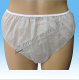 Disposable Printed Underwear for Ladies, Nonwoven Leadies Panties with Printing