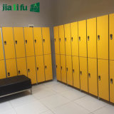 Yellow Color Whole Panel No Frame Staff Lockers