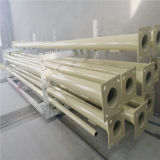 5.8m Tapered Painted Steel Poles