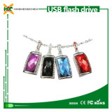 Crystal Flash Drive USB with Necklace Style USB Disk