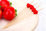 Fashionable Design Heart Shaped Natural Bamboo Skewer/Stick/Pick