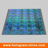 3D Laser Rainbow Custom Hologram Sticker