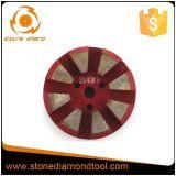 3 Inch Segment Velcro Terrazzo Diamond Metal Polishing Pads