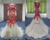 Grace and Elegance of The Bride Lace A-Line Wedding Dress