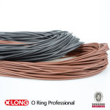 Flexible Brown FKM Rubber Strip for Sealing
