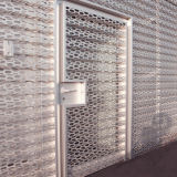 Perforated Aluminum Panels for Audi Facade Decoration