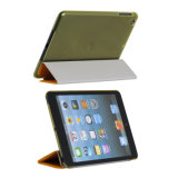 Customized Logo Printing PU+PC Case for iPad
