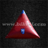 Inflatable Large Doritos Shape Paintball Bunker for Commercial Use K8097