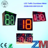 En12368 Certificated High Luminous LED Traffic 2 Digital 0-99 Countdown Timer / Countdown Timer