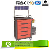 ABS 4 Layers Medical Anesthesia Treatment Trolley