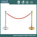 Red Twisted Rope Crowd Control Traditional Barrier